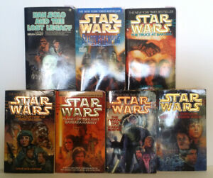Star Wars original trilogy sci-fi books