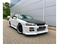 1998 Nissan Skyline R34 2.5 GTT Turbo Manual + WHITE + Body Styling Kit