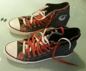 Converse double laced double tongue 10 1/2 shoes (New)
