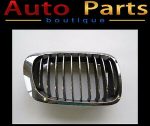 BMW E46 3 Series 1999-2007 Front RIGHT Grille Chrome 51138208686