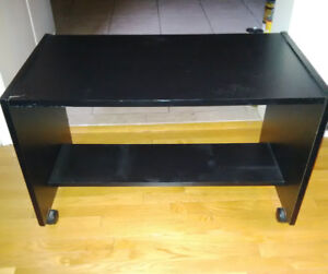 TV Table/Stand on wheels