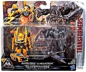 Transformers The Last Knight BUMBLEBEE & MEGATRON