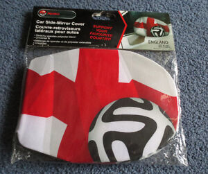 Team England Soccer Car Side-Mirror Cover  New