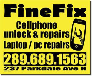 CHEAP CELLPHONE REPAIRS AND UNLOCKING