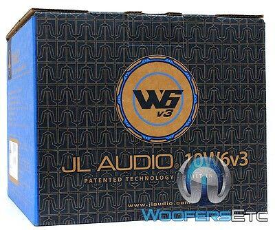 """DISCOUNTEDJL AUDIO 10W6V3-D4 10"""" 600W DUAL VOICE COIL CAR BA"""