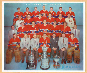 Photos Canadiens de Montreal Coupe Stanley Vintage