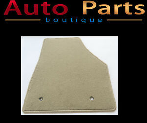 Land Rover Evoque 2012-2015 Tan Carpet Floor Mat 6H52-130A22 OEM