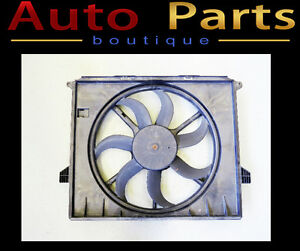 Mercedes ML350 R500 04-12 OEM Auxiliary Fan Assembly 1645000193