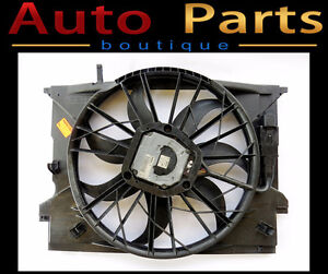 Mercedes-Benz E320 2003-2011 Auxiliary Fan Assembly 2115000693