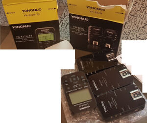 Nikon Wireless Flash trigger set Yungnuo With or without Flashes