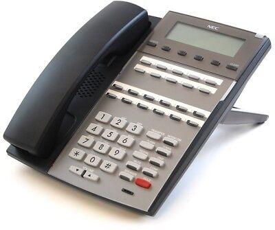 NEC DSX 22B Telephone Black Display Speakerphone 1090020 DX7NA-22BTXH