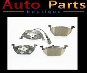 VW Beetle Golf Jetta 1999-2009 Front Brake Pad Set OEM Textar