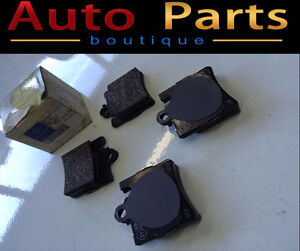 MERCEDES BENZ S500 CL600 2000-2003 REAR BRAKE PADS 0044209420
