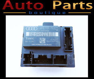 Audi A6 06-08 Power Window Control Module Front Left 4F0959793E