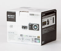 BRAND NEW Sony Alpha NEX-6 with 16-50mm and 55-210mm Kit