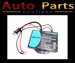 Associated 9002 Underhood 12 Volt Battery Charger 02815A