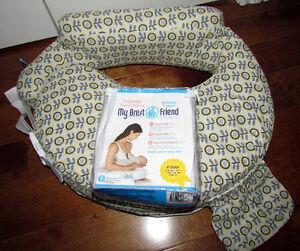 Accessoires pour l'allaitement (coussin,tabliers, tire-lait...)