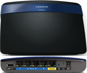 Linksys EA3500 Dual Band Router updated/flashed to Open-WRT