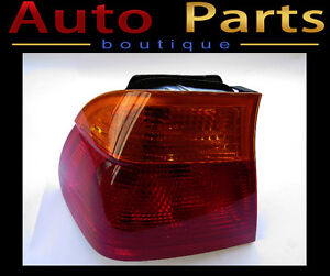 BMW 323i 328i 1999-2001 OEM Tail Light Lens Left 63218364921