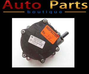 MERCEDES-BENZ C280 2006-2011 OEM ENGINE VACUUM PUMP  2722300465