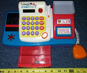 Qty 3 x Toy Cash Registers Batteries Included