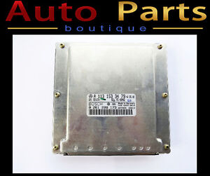 Mercedes E500 ML430 1997-2006 OEM Engine Control Unit 1131533479