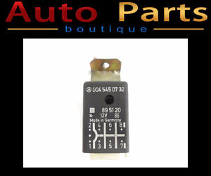 MERCEDES- BENZ 400E 85-95 OEM Seat Belt Warning Relay 0045450732