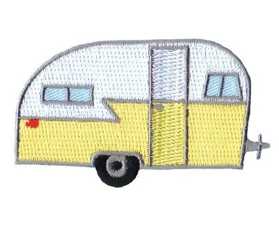 Camping Trailer Patch Applique - Recreational Vehicle RV (Iron on) ()