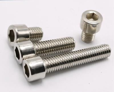 M2,M2.5,M3,M4,M5,M6,M8,Stainless Steel Metric Hex Socket Cap Head Screws Bolt