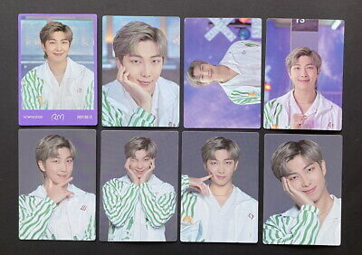 BTS-LOT OF 8 SOWOOZOO 2021 MUSTER OFFICIAL MINI PHOTO CARD SET RM DBALL