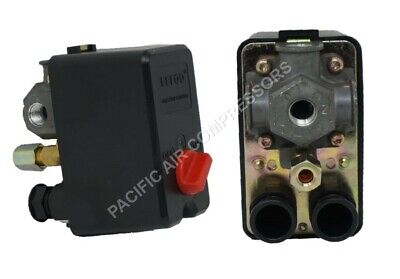 26 Amp Pressure Switch 95-125 Psi Four Port 90 Degree Unloader 120240 V