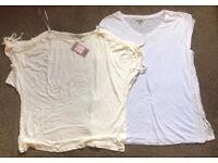 New 2 x Ladies t shirts size 16