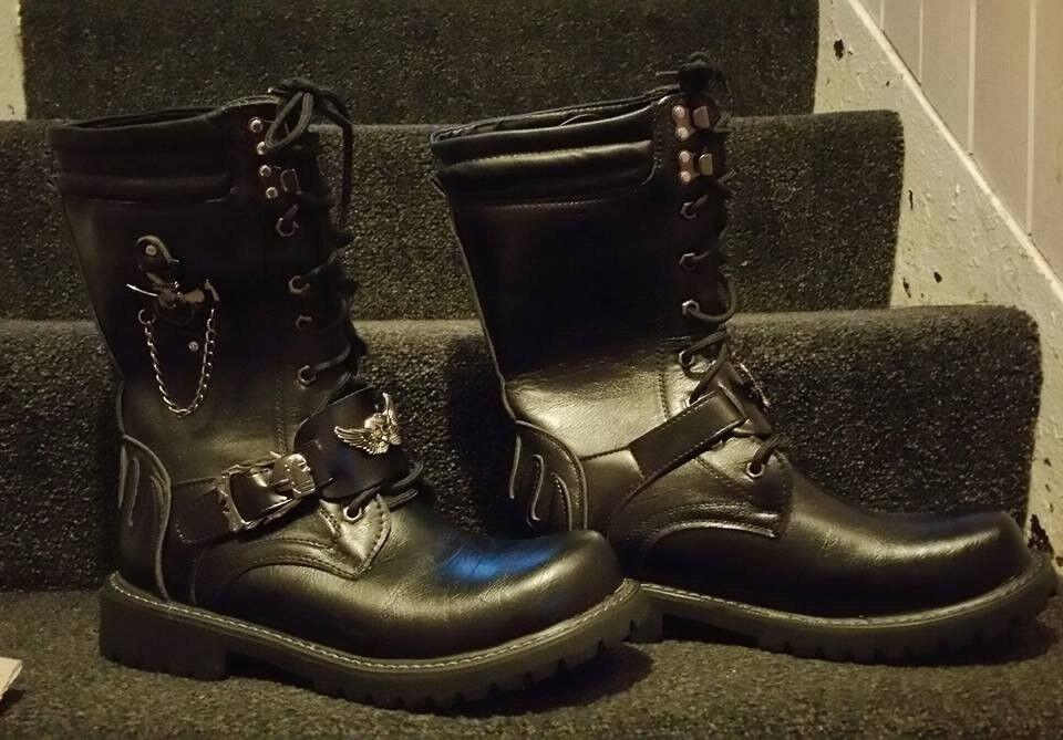 Bike Style Punk Glasgow Boots In Gumtree Southside 5qyWAdyc