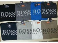 HUGO BOSS T SHIRTS AVAILABLE IN SIZE S/M/L/XL/XXL
