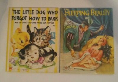 How Boys Sleep (2 Wonder Books Sleeping Beauty/ Little Dog Who Forgot How to Bark/ Boy)