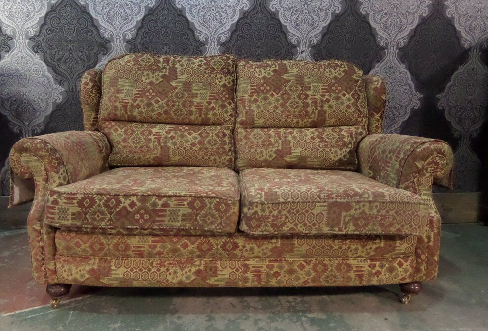Fantastic Chesterfield 2 Seater Sofa In Fabric Uk Delivery In