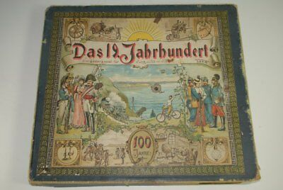 uraltes Kinderspiel * Das 19. Jahrhundert - 100 Jahre! * J. Beck O.M.R. von 1879