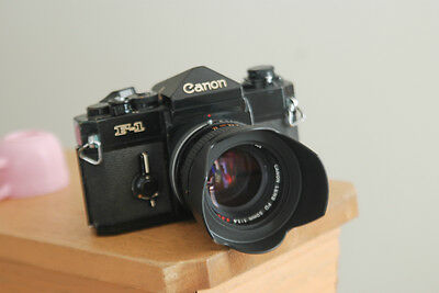 Canon F1 Camera body with a Canon 50mm F1.4 Lens