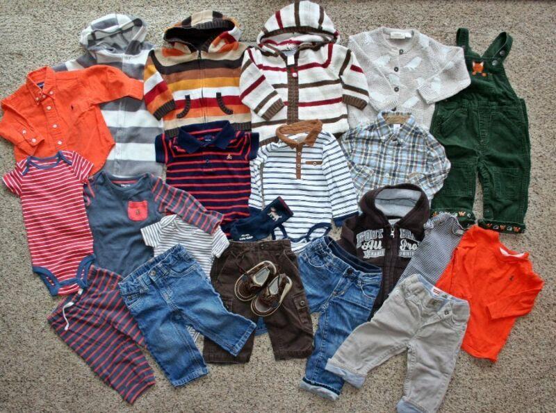 Name Brand Baby Boys Lot Janie & Jack H & M Gap Gymboree Levis 6-12 Months Shoes