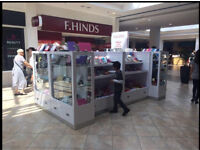 REDUCED REDUCED RMU UNIT KIOSK FOR MOBILE PHONE ACCESSORIES FOR SHOPPING MALL