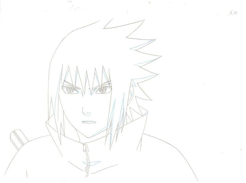 Anime Douga not Cel Naruto #283