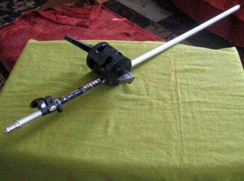Impact Telescoping Mini Boom Arm SLS-LBMI16 Microphone Recording and Photography