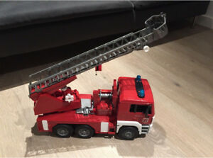 Bruder fire truck with sounds!