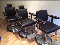 Barber chairs/Belmont dainty inspired/salon chairs/cutting chairs