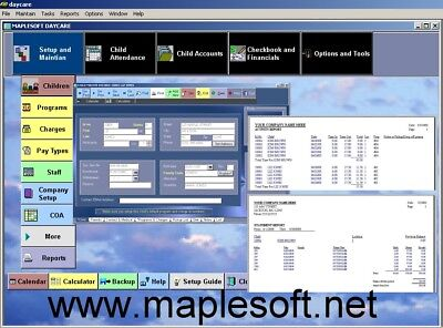 Maplesoft Daycare   Bookkeeping   Accounting Software   Plan 1