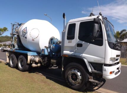 ISUZU CONCRETE AGITATOR TRUCK WITH CONTRACT AND PERMANENT WORK Yeppoon Yeppoon Area Preview