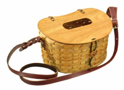 PETE RICKARD - Handmade Fishing Creel (medium basket) - MADE IN U.S.A.