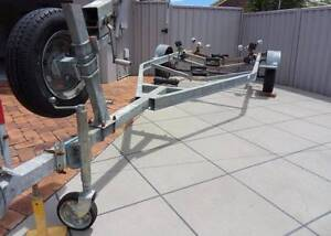 Used multi roller single axle boat trailer - repair or parts Capalaba Brisbane South East Preview