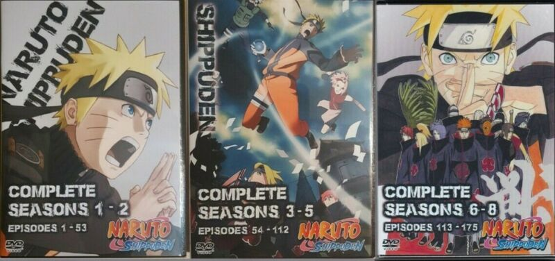 Naruto The Complete Series Episodes 1-720 + Movies English Dubbed on 256GB USB