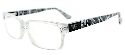$300 EMPORIO ARMANI MEN'S CLEAR EYEGLASSES FRAMES GLASSES OPTICAL EYE EA 9594